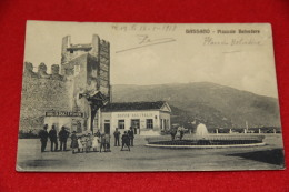 Bassano Vicenza Piazzale Belvedere 1918 Animata Molto Bella++++++++ - Vicenza