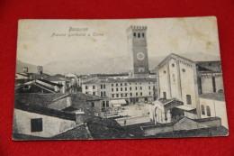 Bassano Vicenza Piazza Garibaldi E Torre Ed. Fontana - Vicenza