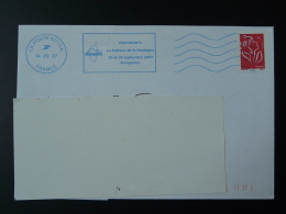 20 Corse 03717A Neopost Bleue Festival De La Montagne 2007 - Flamme Sur Lettre Postmark On Cover - Annullamenti Meccanici (pubblicitari)
