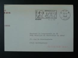21 Cote D'Or Beaune Congrès Joursanvault Port Payé PP 1988 - Flamme Sur Lettre Postmark On Cover - Postmark Collection (Covers)