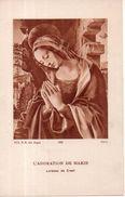 L'adoration De Marie ( Lorenzo Da Credi ), 1939 - Religion & Esotérisme