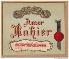 AMER Rahier  -  Gerimont / HERSTAL -  Etiquette Litho - Andere Verzamelingen