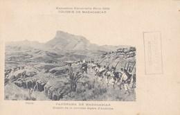CPA Colonie De Madagascar, Exposition Universelle Paris 1900, Panorama De Madagascar (pk39887) - Madagascar