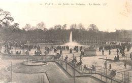CPA-1920-75--PARIS-JARDIN Des TUILERIES-Le BASSIN-TBE - Parcs, Jardins