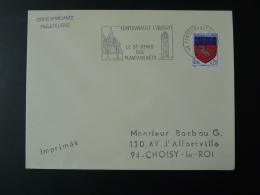 49 Maine Et Loire Fontevrault L'Abbaye 1967 - Flamme Sur Lettre Postmark On Cover - Abbayes & Monastères
