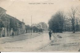 Conflans Jarny Labry (54 - Meurthe Et Moselle) La Place - édit Bouvy Coiffeur Circulée 1920 - Sonstige Gemeinden