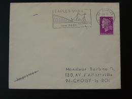 62 Pas De Calais Etaples Bateau De Pêche Fishing Ship 1969 - Flamme Sur Lettre Postmark On Cover - Ships