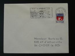 64 Pyrénées Atlantiques Cambo Les Bains Musée Jean Rostand Codée 1967 - Flamme Sur Lettre Postmark On Cover - Postmark Collection (Covers)