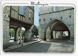 MONTFLANQUIN--Bastide Du XIII° Siècle--Les Arcades (petite Animation) - Monflanquin
