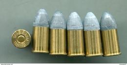 6 Cartouches 11 Mm 1873 - Rechargeables SPALEK ARM - Armes Neutralisées
