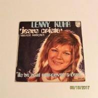 45T LENNY KUHR : Jesus Cristo (Version Française) - Vinyl Records