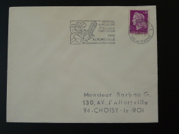 94 Val De Marne Alfortville Costume Festival Folklore 1968 - Flamme Sur Lettre Postmark On Cover - Marcofilia (sobres)