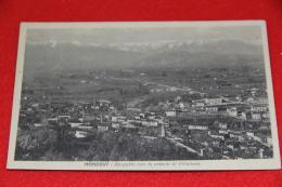Mondovì Borgatto Cuneo E La Veduta Di Villanova 1932 Ed. Beccaria - Cuneo