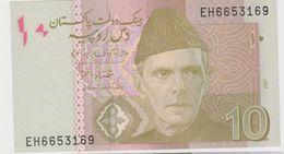 PAKISTAN 10 Roupies 2007 P45b UNC - Pakistan