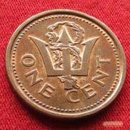 Barbados 1 Cent 1985 KM# 10 Barbade Barbades - Barbades