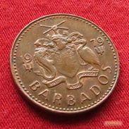 Barbados 1 Cent 1979 KM# 10 Barbade Barbades - Barbades