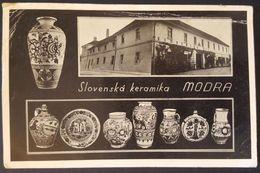 SLOVENSKA KERAMIKA MODRA Slovakia Vg 1940 - Slovacchia