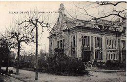 BÉTHUNE - RUINES 1918 - LE THEATRE - Bethune