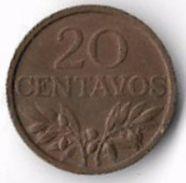 Portugal 1970 20 Centavos [C606/2D] - Portugal