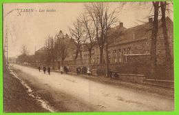 Libin - Les écoles Animées - Circulé Vers 1920 - Edit. J. Debehogne, Papetier Libin - Libin