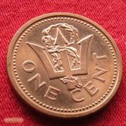 Barbados 1 Cent 1999 KM# 10a Barbade Barbades - Barbades