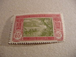 TIMBRE   COTE  D'IVOIRE       N  71      COTE  1,80  EUROS   NEUF  TRACE  CHARNIERE - Ivory Coast (1892-1944)