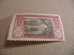 TIMBRE   COTE  D'IVOIRE       N  72      COTE  1,80  EUROS   NEUF  TRACE  CHARNIERE - Ivory Coast (1892-1944)
