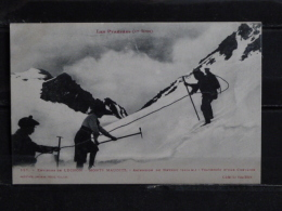 F17 - 31 - Environs De Luchon - Monts Maudits - Ascension Du Nethou - Traversée D'une Crevasse - Edition Labouche - Luchon