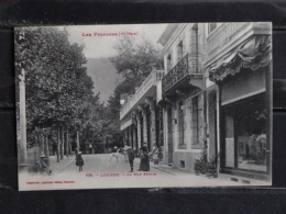 F17 - 31 - Luchon - La Rue Sylvie - Edition Labouche - - Luchon