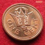 Barbados 1 Cent 1989 KM# 10  Barbades Barbade - Barbades