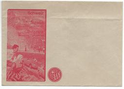 Enveloppe Publicité Suisse, S.I.V. A.S.I., Balade En Voiture Dans Les Alpes (920) - Publicités