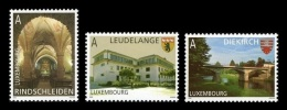Luxembourg 2008 Mih. 1776/78 Tourism. Diekrich, Leudelange And Rindschleiden. Church. Bridge MNH ** - Luxembourg