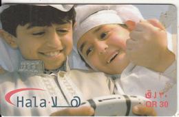 QATAR - Children, Q-Tel Prepaid Card QR30, Exp.date 31/12/10, Used - Qatar