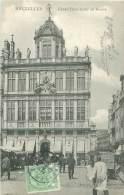 BRUXELLES - Grand'Place Et Rue Au Beurre - Avenues, Boulevards