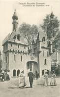 BRUXELLES - Exposition De 1910 - Porte De Bruxelles Kermesse - Universal Exhibitions