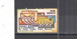 Messico PO 1984 Codice Postale Scott.1344+ See Scans Nuovi - Messico