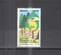 Messico PO 1984 Prot.Foreste Scott.1350+ See Scans Nuovi - Messico