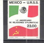 Messico PO 1984 Messico Urss Scott.1358+ See Scans Nuovi - Messico