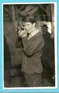 PHOTO-TIR PHOTOGRAPHIQUE-SHOOTING STAND GUN-KERMESSE-TIR FORAIN-PHOTO ORIGINAL!! - Tir (Armes)