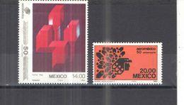 Messico PO 1984 Aereo Mexico. Scott.1362/3+ See Scans Nuovi - Messico