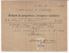 Invoice * Portugal * Lisboa * 1894 * Carvalho & Garcez - Portugal