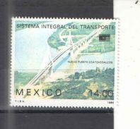 Messico PO 1984 Sistema Trasporti Scott.1366 See Scans Nuovi - Messico