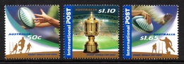 AUSTRALIA 2003 Rugby World Cup: Set Of 3 Stamps UM/MNH - Rugby