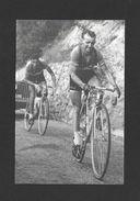 SPORTS - SPORT CYCLISME  VÉLO  SOUVENIR DU TOUR DE FRANCE EN 1952 JEAN ROBIC ET RAPHAËL GEMINIANI - Cyclisme