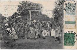 CPA Afrique Noire Fétiche Circulé Bénin - Benin