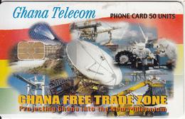 GHANA - Earth Station, Free Trade Zone, 05/04, Used - Ghana