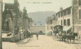 66 . N°38471.mont Louis.la Grande Rue.diligence. - Autres Communes