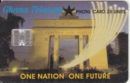GHANA - One Nation One Futrure, 03/02, Used - Ghana