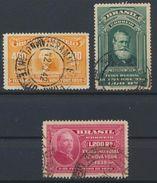 °°° BRASIL - Y&T N°352/53/54 - 1939 °°° - Used Stamps