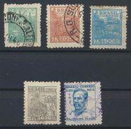 °°° BRASIL - Y&T N°383/84/8690/93 - 1941 °°° - Used Stamps